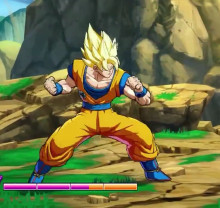 Goku Beta color