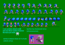 Forces Classic Sonic