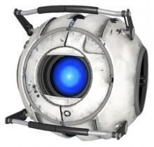 Wheatley (Portal 2) over Jigglypuff