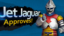 Jet Jaguar over Captain Falcon