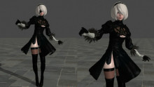 Yorha 2B Player model
