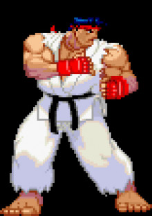 3rd Strike Ryu Sprite Mod