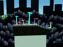 Yoshi's Island: Crystal Caves over Yoshi's Island (Melee)