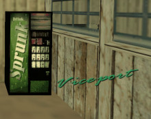 GTA Vice City Sprunk vending machine