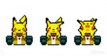 Pikachu in MK8 !