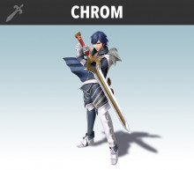 Chrom over Ike
