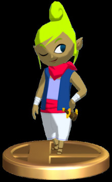 Tetra from The Wind Waker