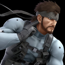 Smash Ultimate Snake UI for Captain Falcon