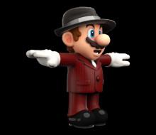 Musician Mario over Doctor Mario