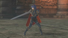 Lucina's idle and running animations from FE:W (Wifi-Safe)