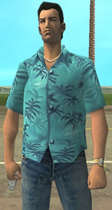 Tommy Vercetti's Shirt Reskin For Sunshine Oufit
