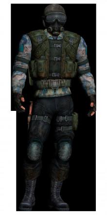 STALKER CS-2 player model