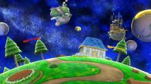Super Mario Galaxy Wii U stage