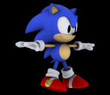 Generations 3DS Classic Sonic