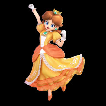 Daisy from Smash Ultimate