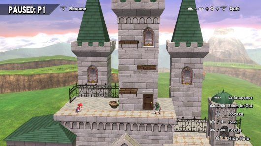 Hyrule Castle from project m