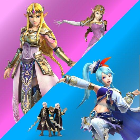 Zelda or Lana from Hyrule Warriors over Zelda or Robin