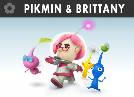 Brittany from Pikmin 3