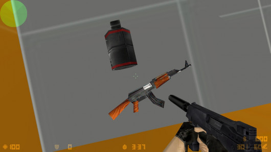 Smaller size of grenades (world models)