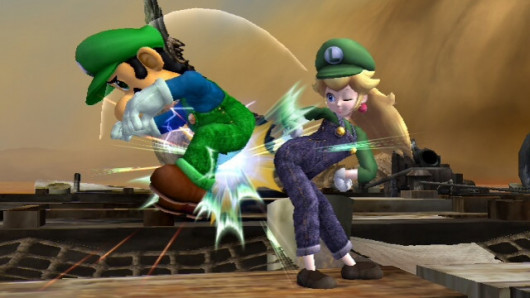outta here, I AM Luigi now !