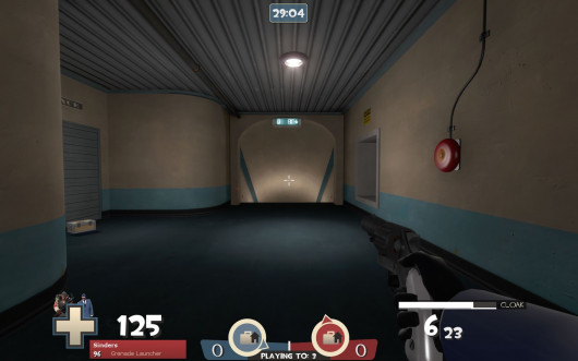 A picture of what a TF2C HUD could look like.