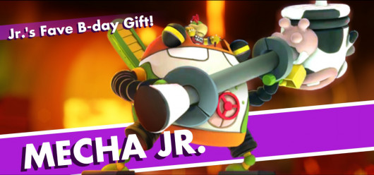 Mecha Jr. over King Dedede