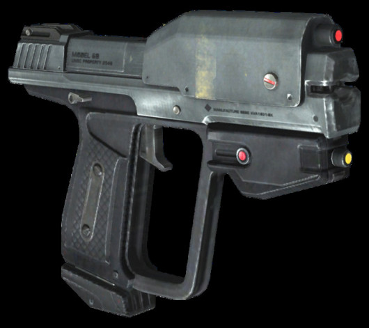 Halo Magnum over Pistol or shotgun