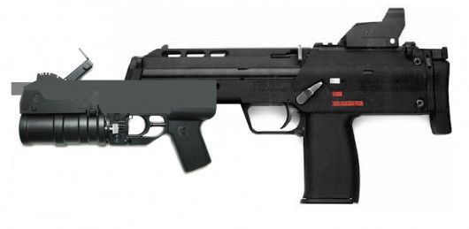 Skin for MP7, MP7 With GP30 grenade launcher