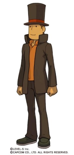 Professor Layton skin for Phoenix Wright