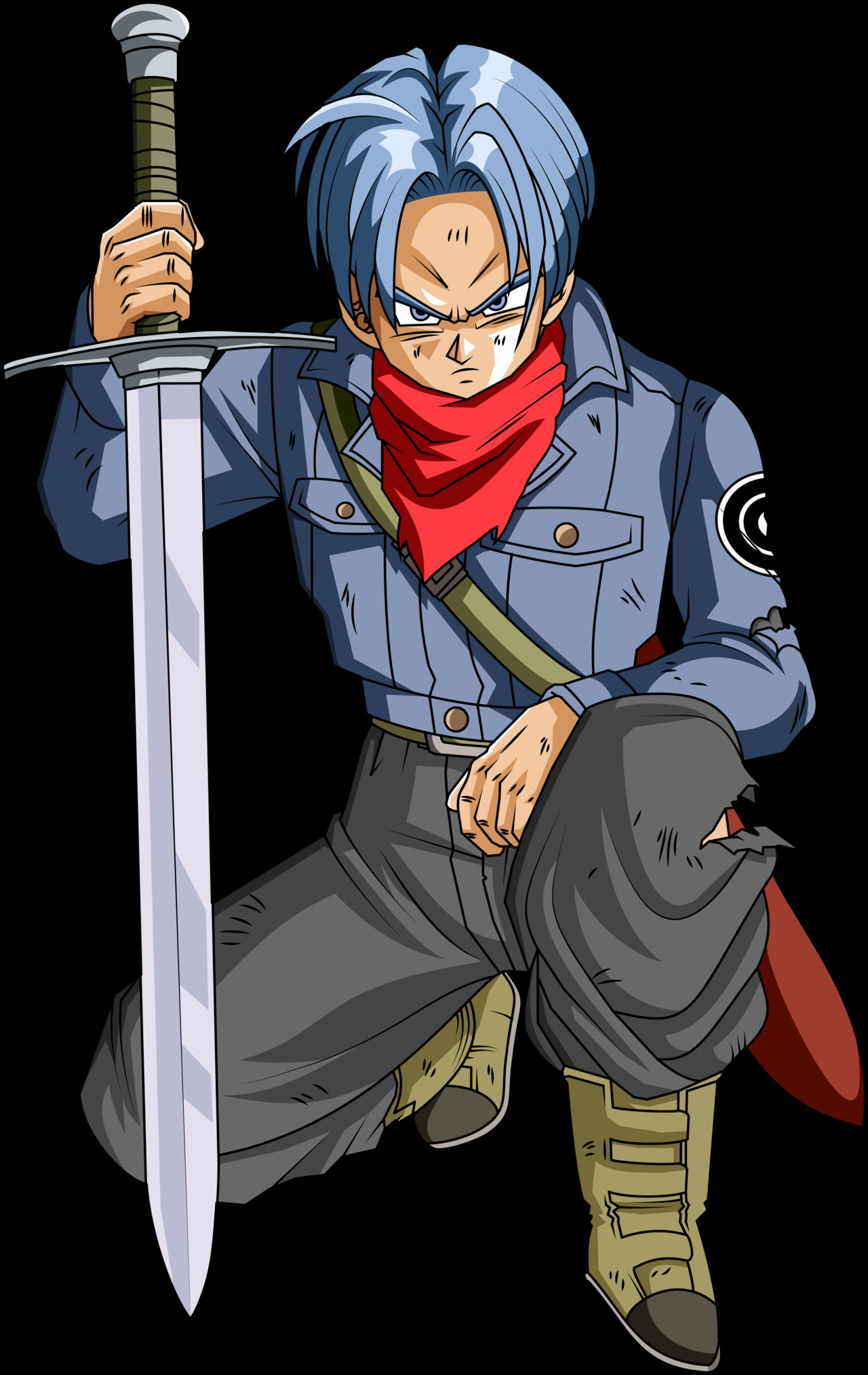 Future Vegeta Future Trunks (DBS) (S...