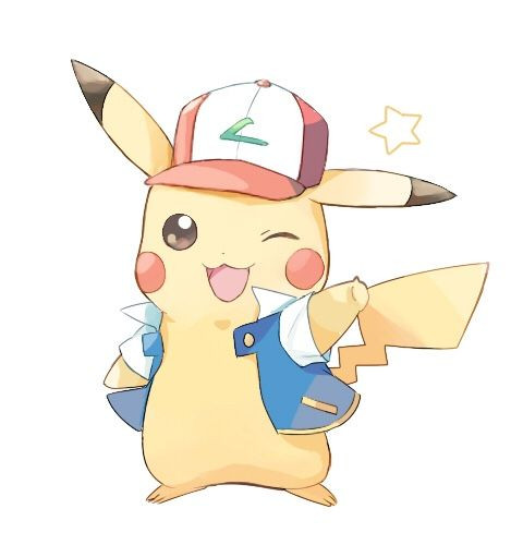 Pikachu with Ash Clothing