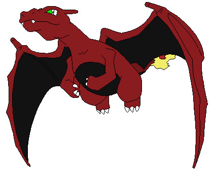 Charizard: Black&Red