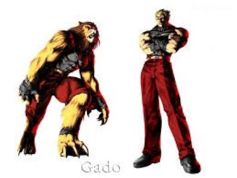 Gado the Lion over Ganondorf