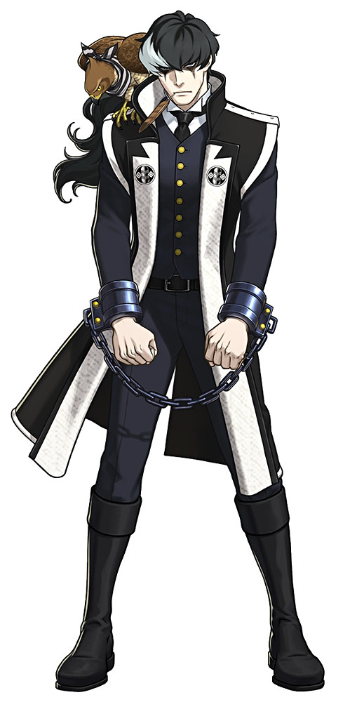 A picture of Simon Blackquill. The model should look like this, with/without Taka on his shoulder