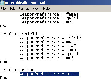 CSWS Support with botproflie.db