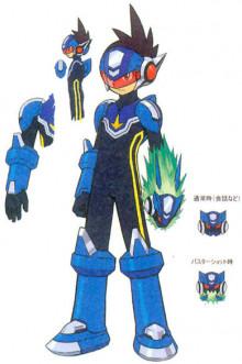 Star Force inspired skin for Mega Man preview