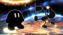 Mr game & watch Kirby preview