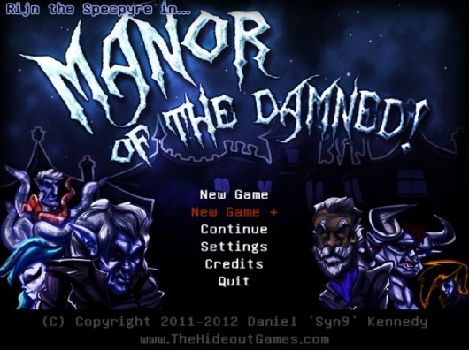 Rijn the Specpyre in...Manor of the Damned!