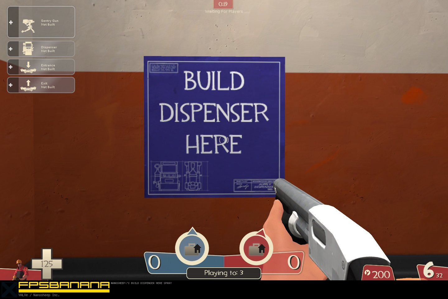 Build dispenser here blueprint team fortress 2 sprays build dispenser here blueprint build dispenser here blueprint malvernweather Images