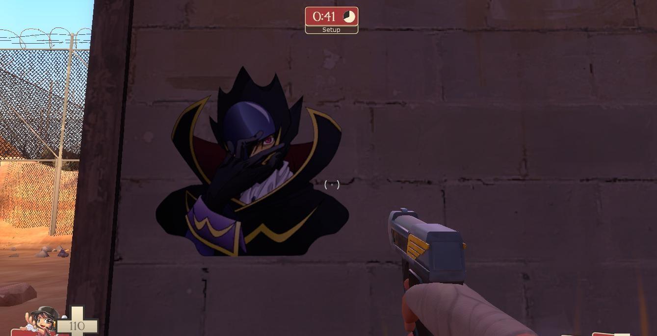 Lelouch - Zero | Team Fortress 2 Sprays