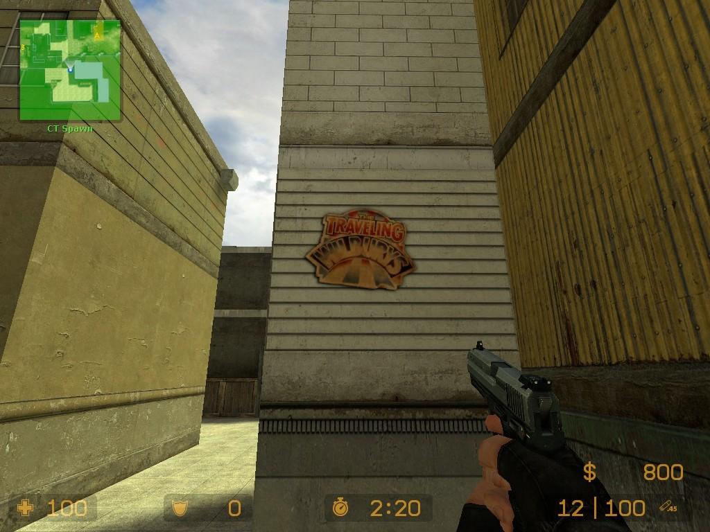 Traveling Wilburys logo Spray screenshot #2