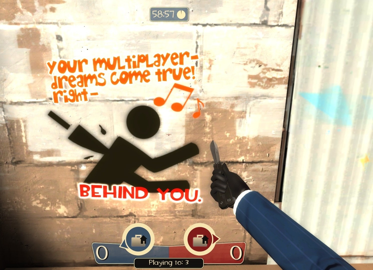 Your MP-dreams are behind you. (Team Fortress 2 > Sprays