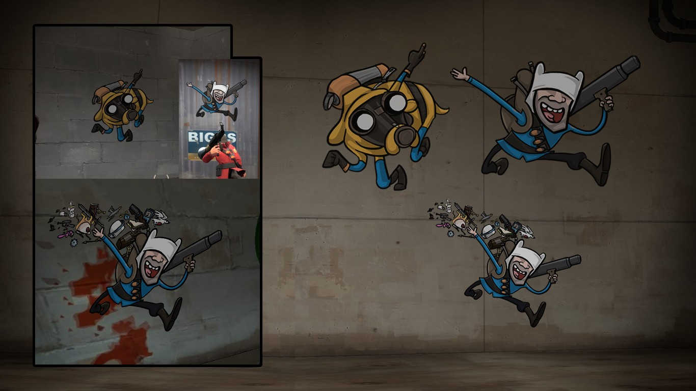 Fortress Time Team Fortress 2 Sprays