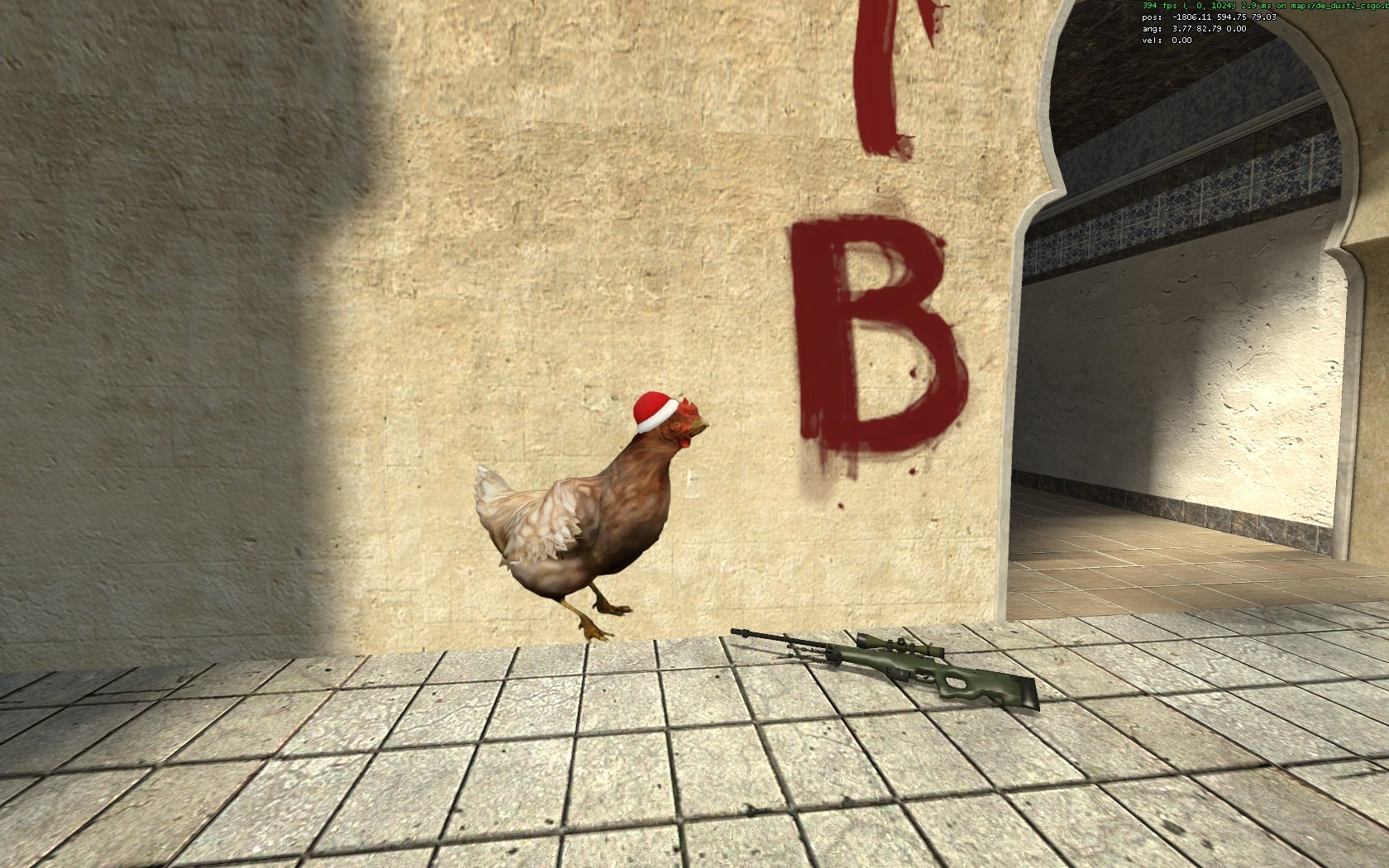 Cs Go Xmas Chicken Gamebanana Gt Sprays Gt Christmas Winter