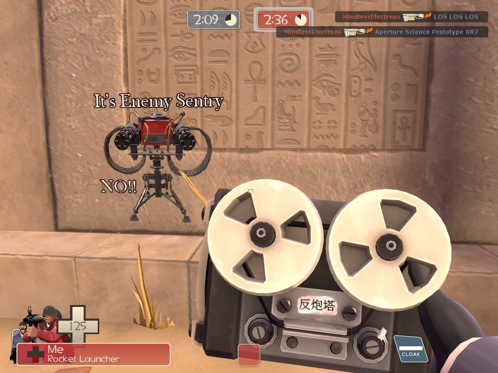 Tf2 Automatic Dispenser ~ Fading dispenser here no it s the enemy sentry team