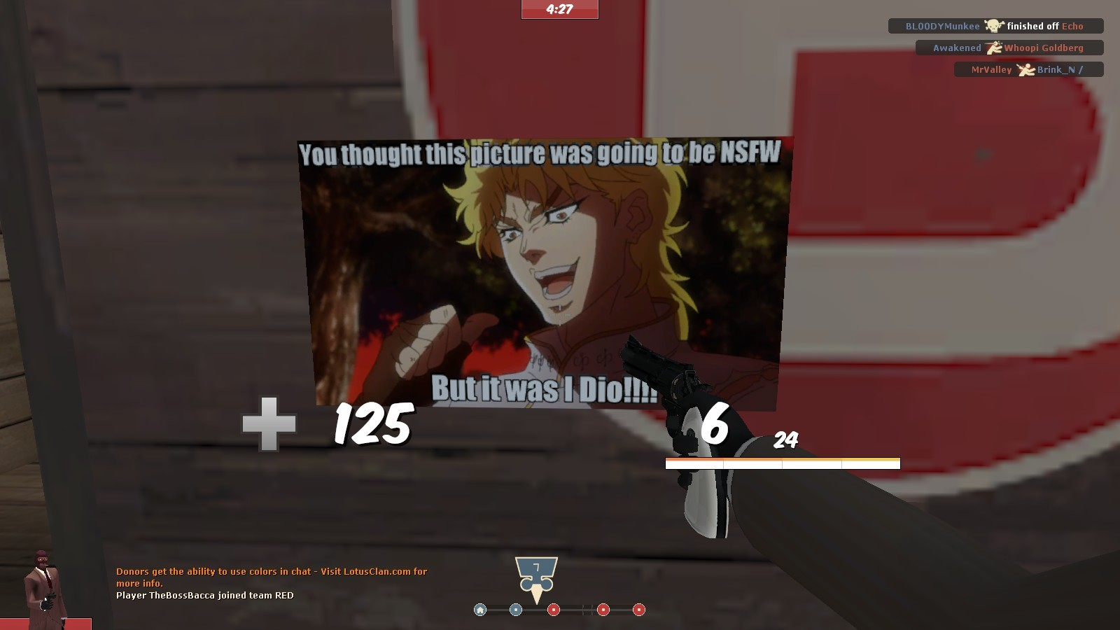 It was Me! Dio! | Team Fortress 2 Sprays