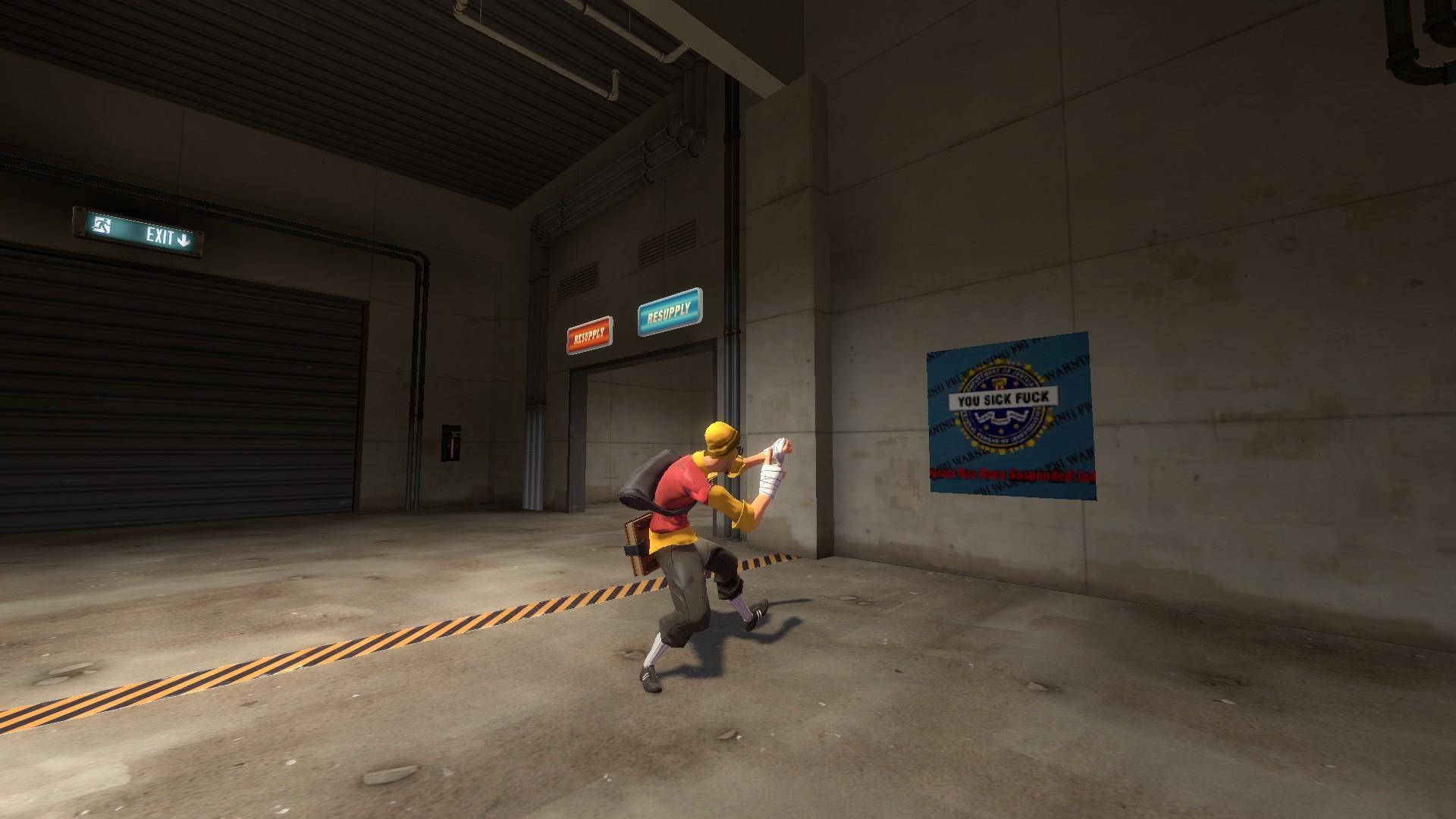 Jontron YOU SICK FUCK Spray [Team Fortress 2] [Sprays]