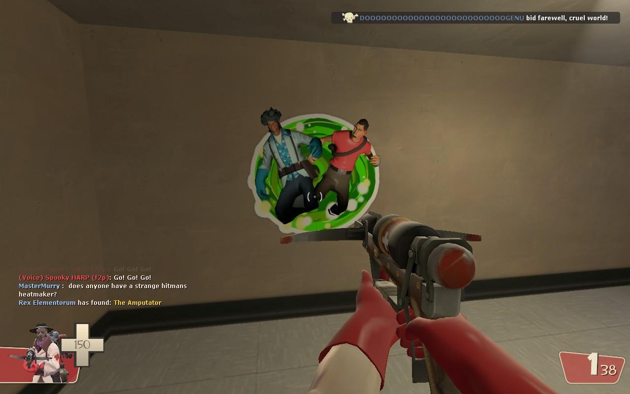 Rick And Morty Spray Team Fortress 2 Sprays