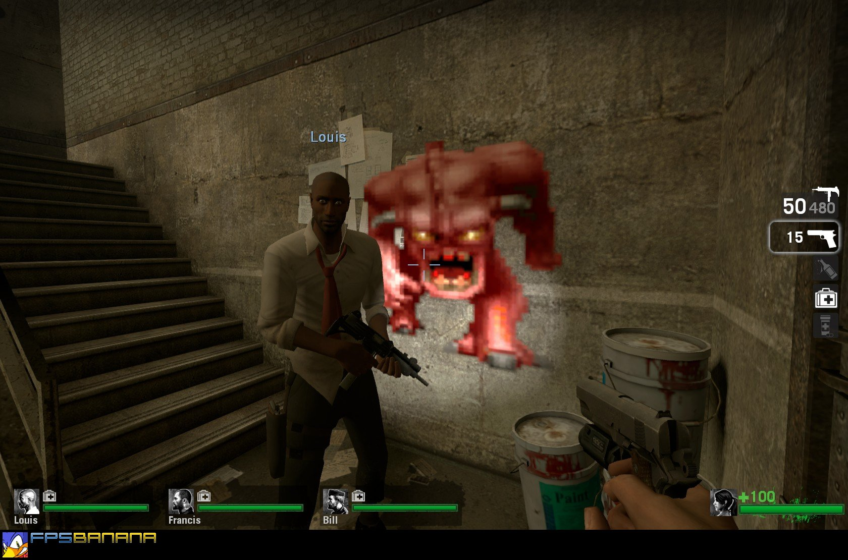 Pinky Demon Left 4 Dead Sprays