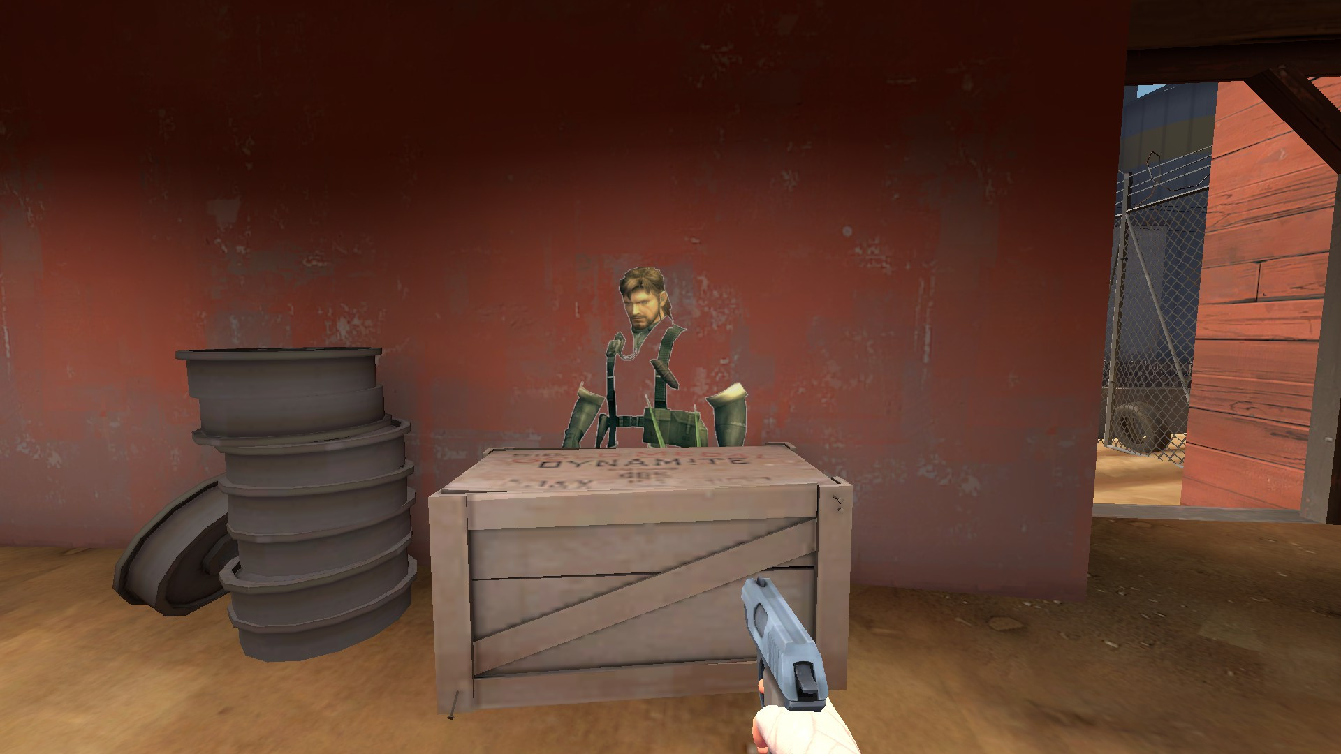 Naked Snake in Camouflage | Team Fortress 2 Sprays